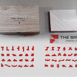 The Small T3 vỏ hộp móc khoá