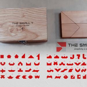 The Small T4 vỏ hộp móc khoá