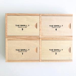 Combo 4 sản phẩm small T vỏ hộp nắp trượt