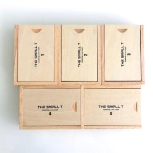 Combo 5 sản phẩm small T vỏ hộp nắp trượt