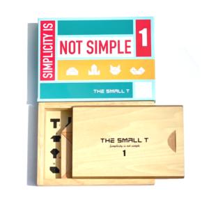 The Small T1 vỏ hộp nắp trượt