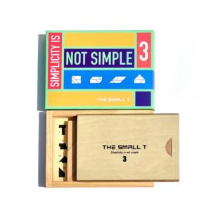 The Small T3 vỏ hộp nắp trượt